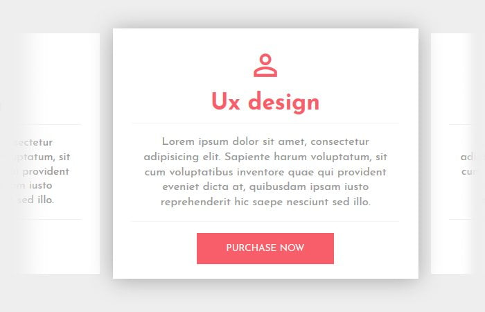Material Responsive Pricing Tables