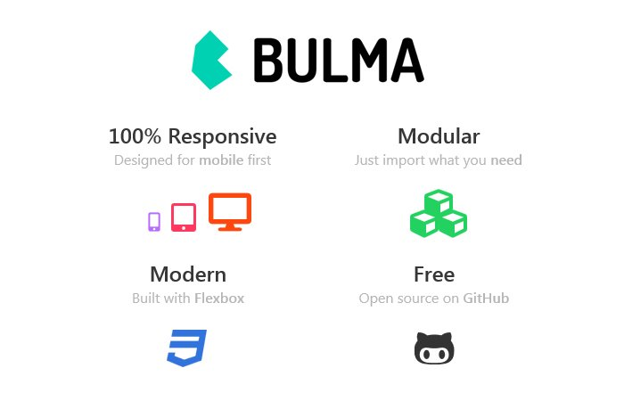 Bulma also one of top CSS frameworks