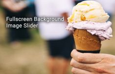 Fullscreen Background Image Slider with CSS