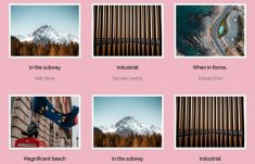 SS Image Grid with Captions