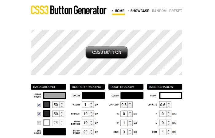 css3 button creator one of best online buttons generator