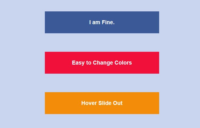 CSS Hover Slide Out Text Effect