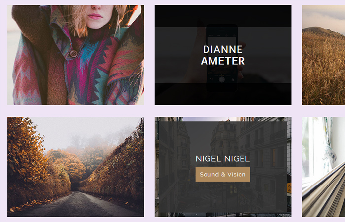 Free CSS3 Image Hover Effects without Javascript