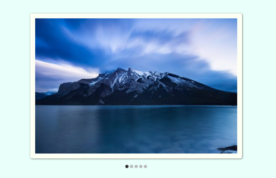 CSS only Responsive Image Slider