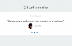 Pure CSS Testimonial Slider with Controls