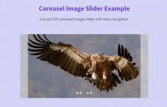 Responsive Carousel Image Slider in CSS