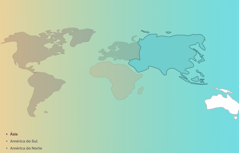 SVG World Map Clickable in HTML and CSS